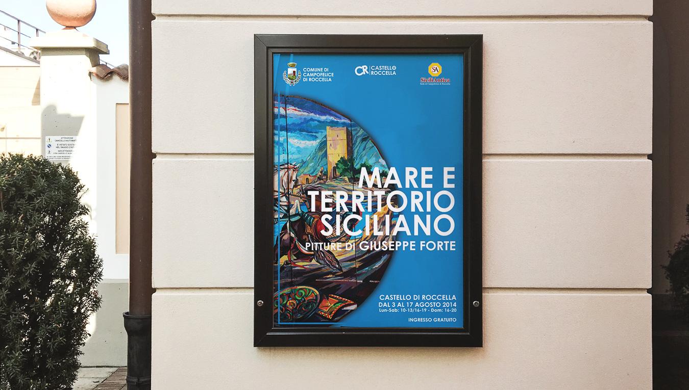 """Mostra """"Mare e territorio siciliano"""""""