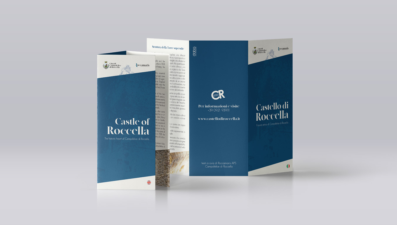 Nuove brochure Castello di Roccella
